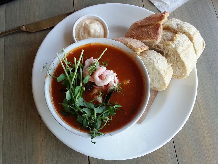 Zupa rybna w Nynashamn
